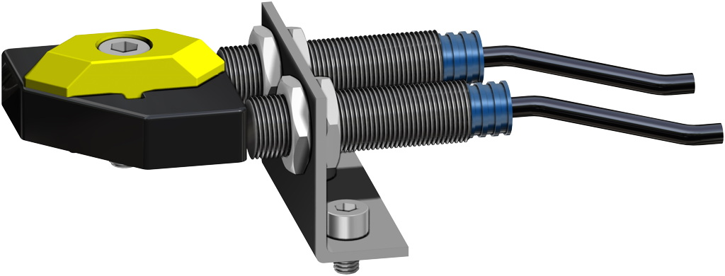 Actuador neumático efecto simple GS 40 PSI ÷ 2,8 bar - accesorios - TOPE DE PROXIMIDAD