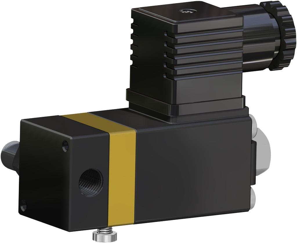 Actuador neumático efecto simple GS 40 PSI ÷ 2,8 bar - accesorios - TOPES INDUCTIVOS