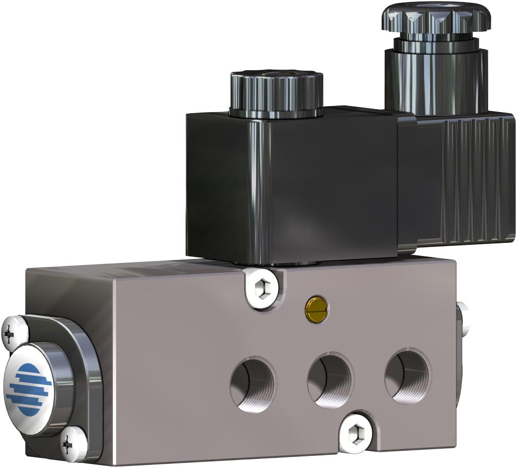 Actuador neumático efecto simple GS 40 PSI ÷ 2,8 bar - accesorios - TOPES INDUCTIVOS NAMUR