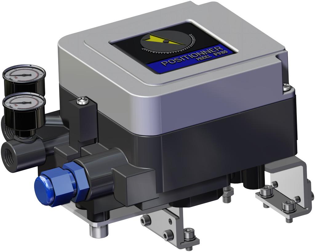 Actuador neumático efecto simple GS 40 PSI ÷ 2,8 bar - accesorios - POSICIONADOR ELECTRONEUMÁTICO (SEGURIDAD INTRÍNSECA)
